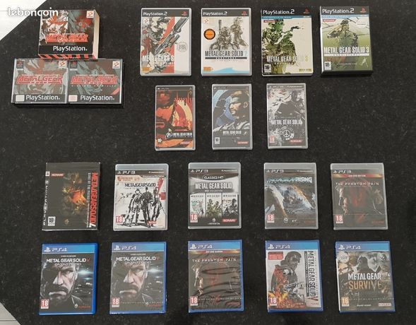 Collection Metal Gear Solid