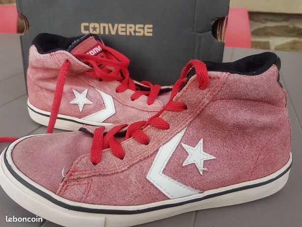 converse rouge 33
