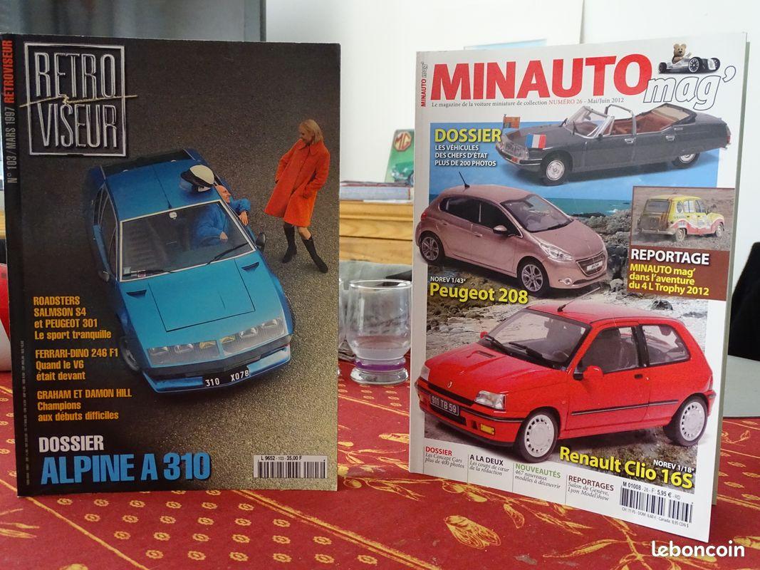 Revues automobiles anciennes