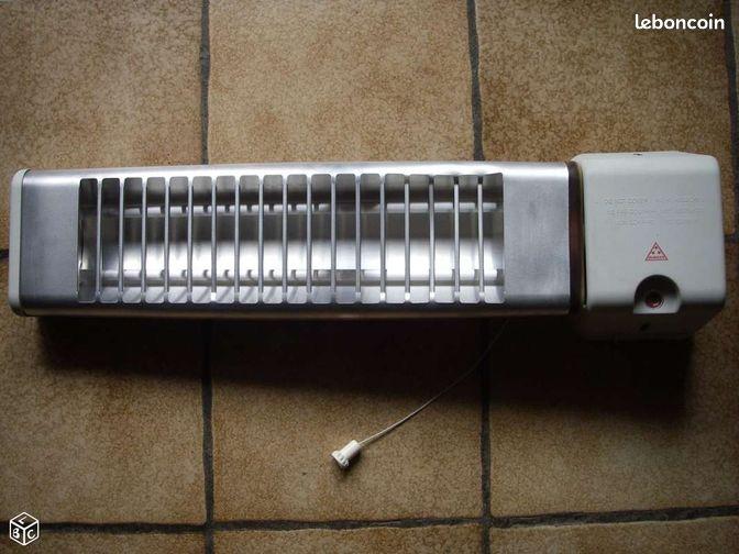 radiateur radiant salle de bain electrom nager is re. Black Bedroom Furniture Sets. Home Design Ideas