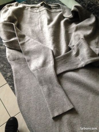 Pull gris taille S simchris95