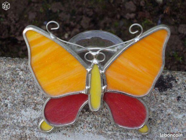 Papillon porte bougie