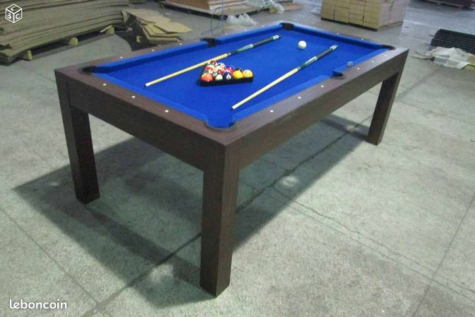 Billard convertible table manger neuf 14 sports for Table a manger convertible