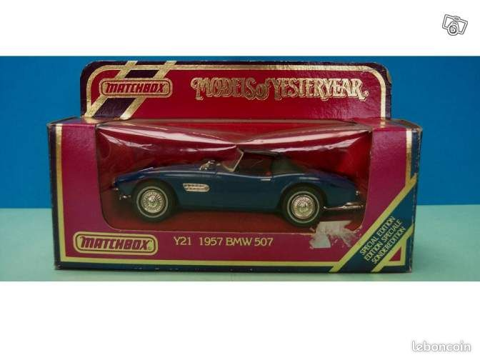 voiture matchbox yesteryear bmw 507 toy59 collection nord. Black Bedroom Furniture Sets. Home Design Ideas