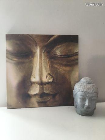 Tableau / Toile   Tête Bouddha - Zen