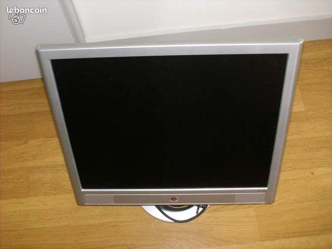 ecran ordinateur hp lcd vs19e 19 pouces tbe ma informatique charente maritime. Black Bedroom Furniture Sets. Home Design Ideas