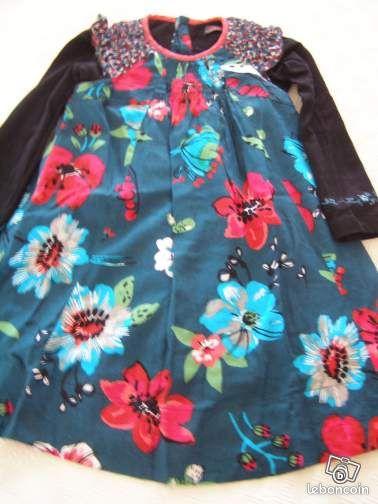 Robe de Nol fille taille 4,5 ans - vintedfr