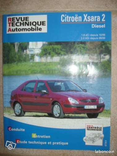 revue technique auto citroen xsara 2 diesel neuve livres. Black Bedroom Furniture Sets. Home Design Ideas