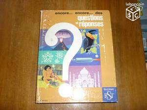 Encore.encore des questions et reponses - Maillé - edition 1977 par RST editeur,350 pages,bon etat.  - Maillé