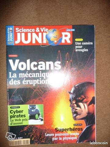 """MAGAZINES """"sciences et vie junior"""" - Conliège - je vends tous les n° de sciences et vie junior datant de la période 1996 à 2001. l'état va de correct a comme neuf possibilité de vendre au numéro les magazines merci de me communiquer le numéro souhaité, ou l'année, je vous dirais si - Conliège"""