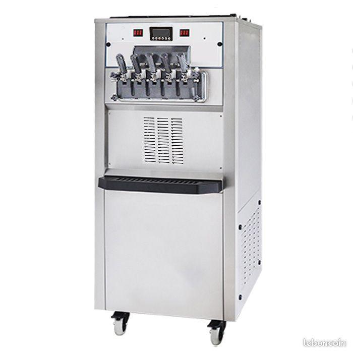 Machine à glaces italienne 2 parfums + mix