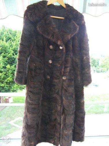 manteau en patte de vison v ritable v tements cher. Black Bedroom Furniture Sets. Home Design Ideas