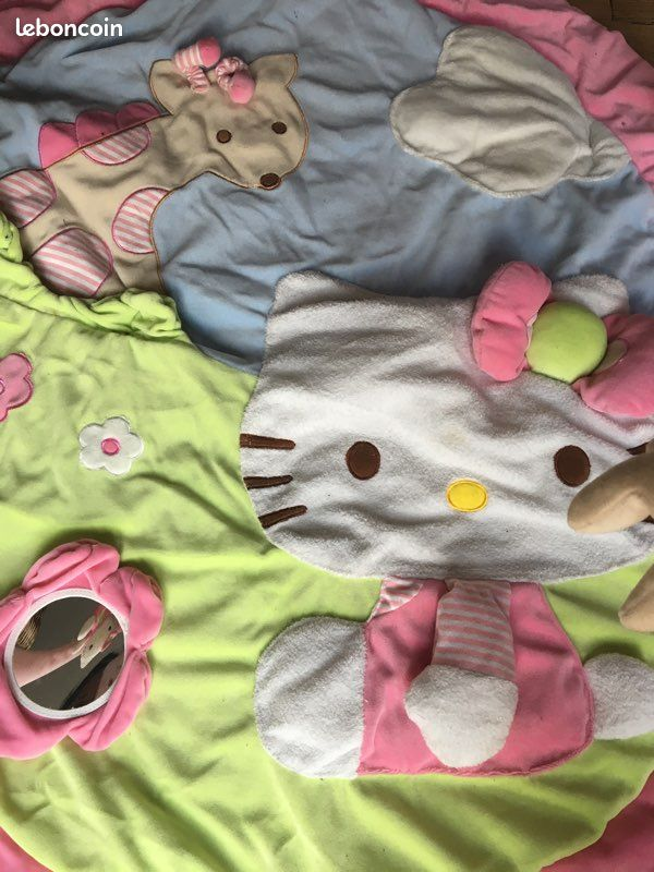 Tapis d'éveil hello kitty