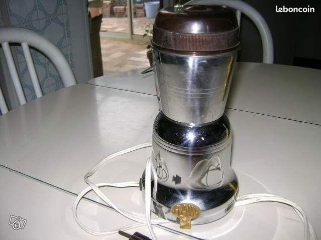 Moulin a caf electrique inox ann e 1950 electrom nager - Colissimo agence haute garonne ...