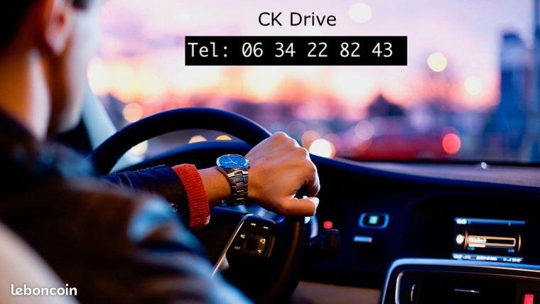 Chauffeur VTC prise de poste immédiate CARTE OBLIGATOIRE (H/F)