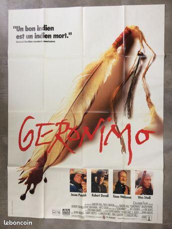 Affiche de cinéma Géronimo