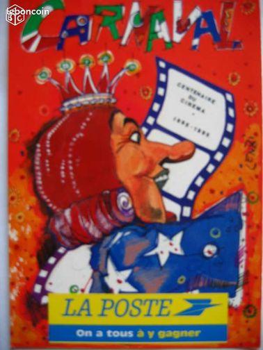 carte postale poste nice carnaval lenzi 1995 collection territoire de belfort. Black Bedroom Furniture Sets. Home Design Ideas