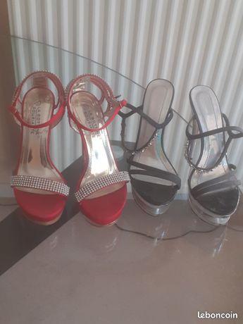 2 paires de chaussures 1 paire offerte
