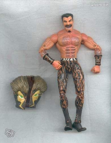 figurine kraven le chasseur collection ari u00e8ge