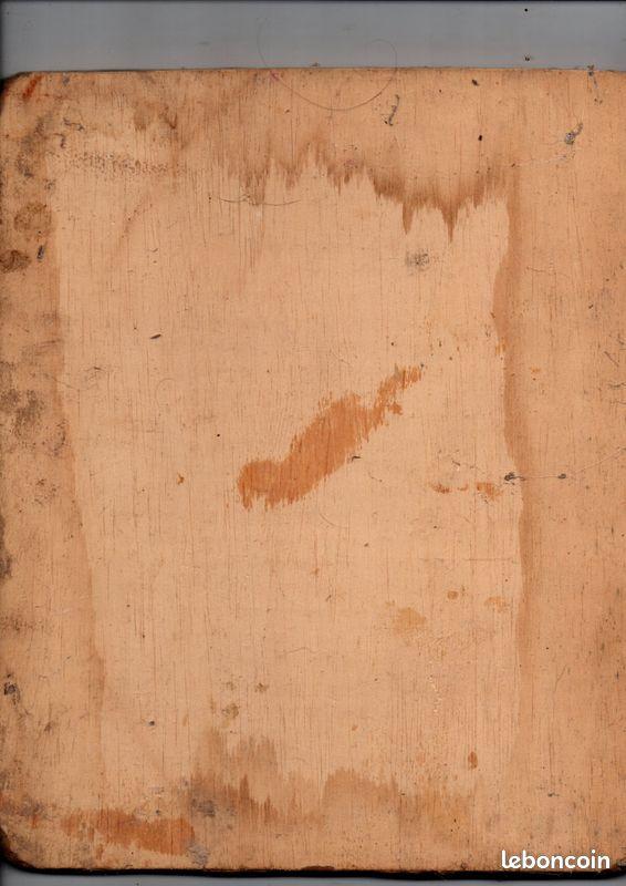 Tableaux peinture à huile sur bois 27x17cm
