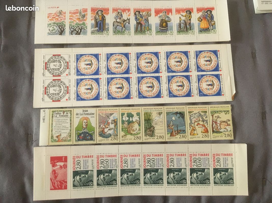 Planches timbres anciens