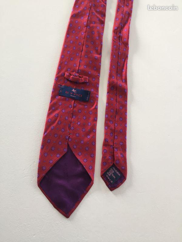 Cravate etro en soie