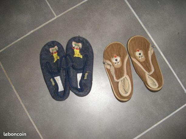 Lot de 2 paires de sandales