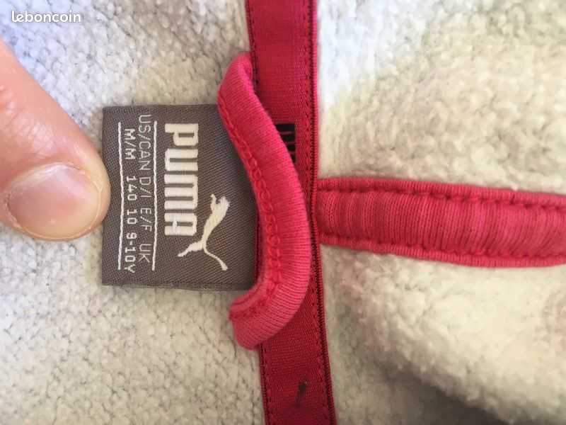 Jogging coton fille pantalon 7-8 ans/ gilet 9-10 ans
