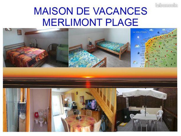 MERLIMONT PLAGE maison de vacances 300m de la mer