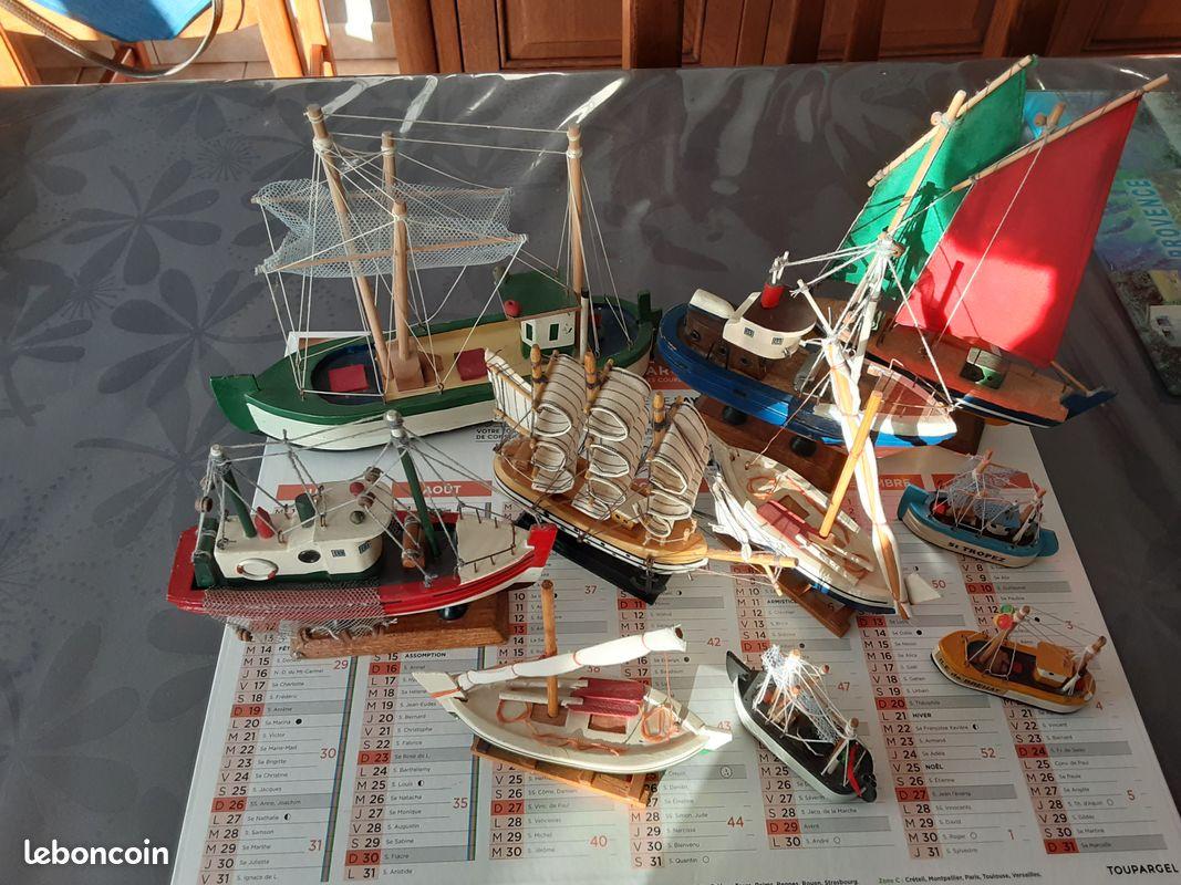 Bateaux miniatures
