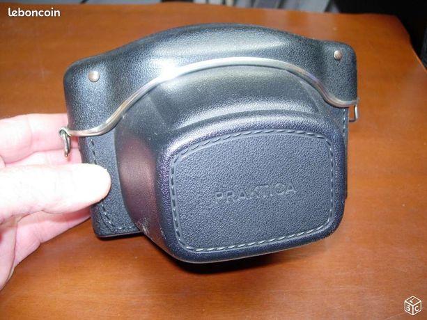 Etui appareil photo - Velaine-en-Haye - Etui appareil photo 24X36. Coque rigide. protection au top. L'appareil peut être fixé dans l'étui et les photos prenables. Sangle manquante.  - Velaine-en-Haye