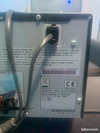 Home cinéma 5.1 sony 865watts (STR kg 800 )avec caisson de basse (Sony SA-WP890)