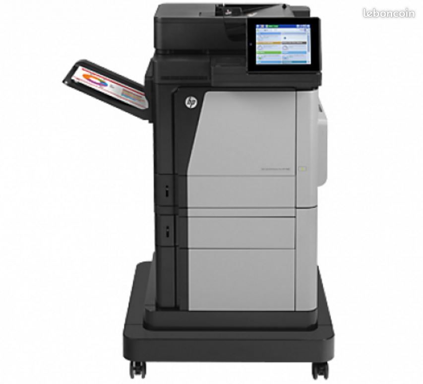 Imprimante/photocopieur hp color laserjet enterprise m680f mfp