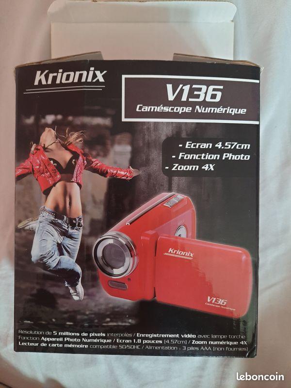 Caméscope numérique v136 krionix