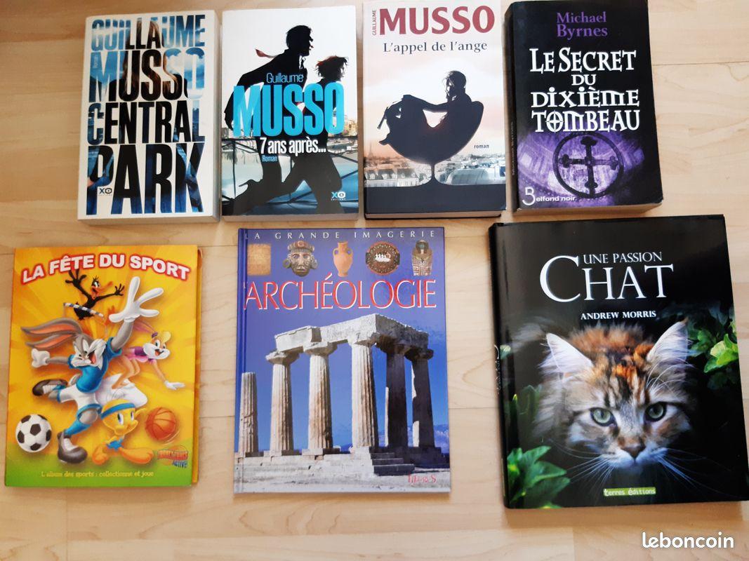 7 livres et romans