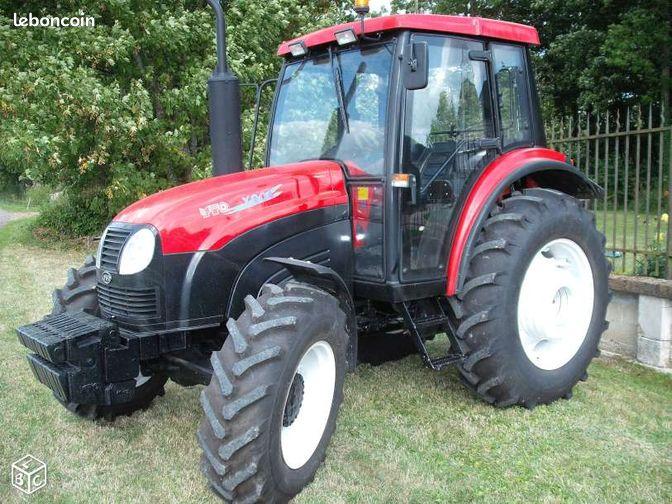 tracteur 80 cv 4x4 avec cabine  40  mat u00e9riel agricole landes
