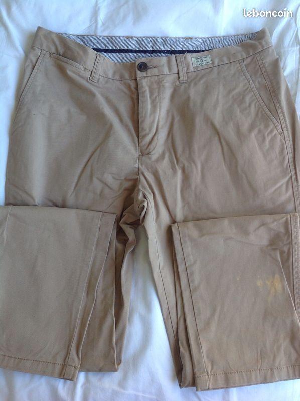Pantalon tommy hilfiger -t34/34 (gll)