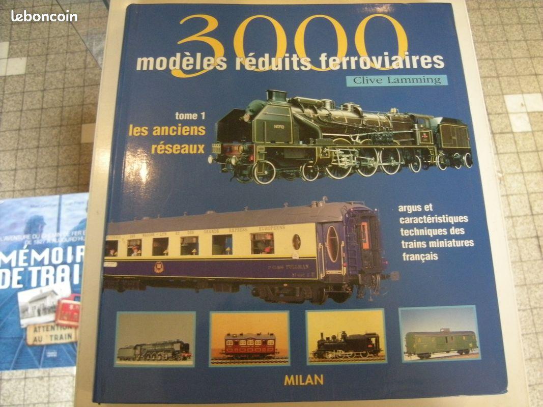 Livre 3000 modèles réduits ferroviaires - tome 1 argus jouef 1/87 lamming