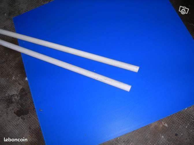 Tringles à rideau bois laqué blanc Décoration MaineetLoire  ~ Tringle A Rideau Bois