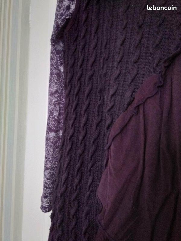 Robe pull sans manche