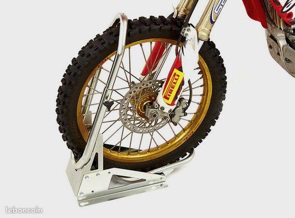 Bloque roue pour moto tout terrain, cross, trial