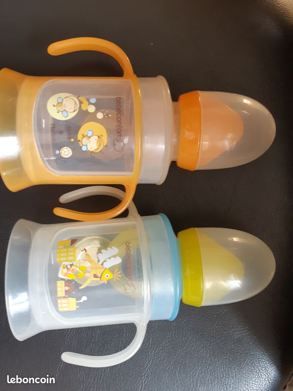 Lot timbales évolutives bébé confort x2