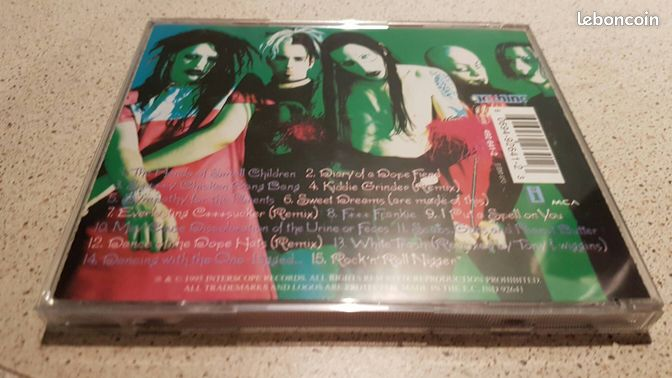 "Marilyn manson smells like children - Bourges - Pour consulter mes autres ventes, tapez ""gali bourges"".  - Bourges"