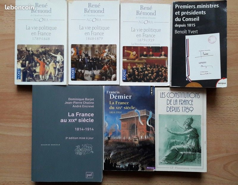 Livres licence d'histoire