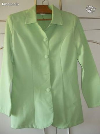 Petite veste vert anis