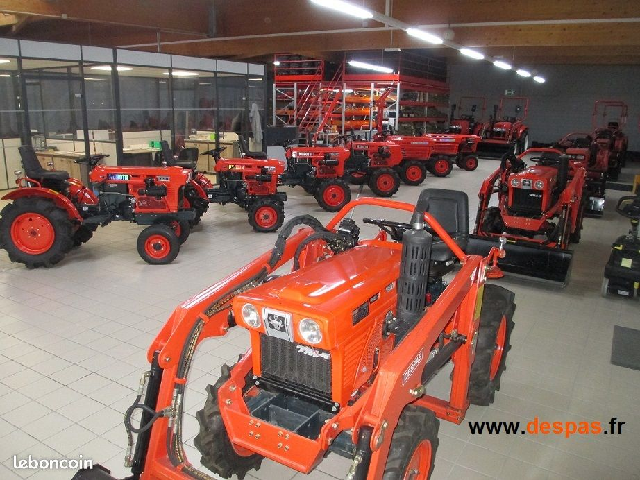 Micro tracteur mittra mt28 neuf, 26-28 cv