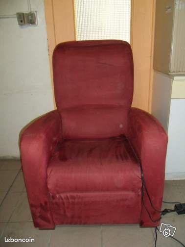 Fauteuil l ctrique ameublement is re - Le bon coin fauteuil relax electrique ...