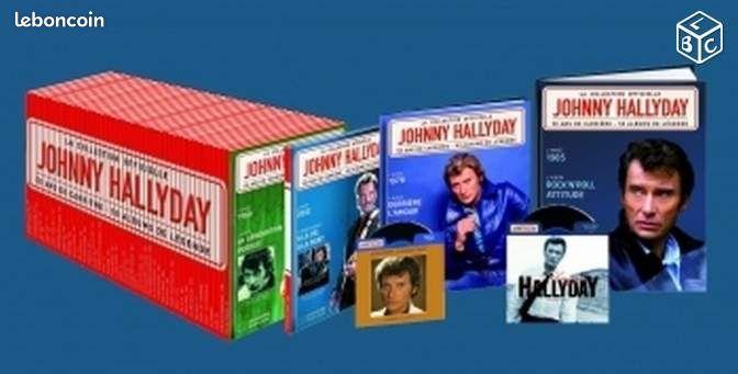 johnny hallyday collection 50 livre cd cd musique marne. Black Bedroom Furniture Sets. Home Design Ideas