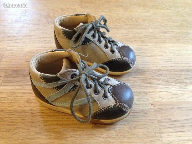 Chaussures GBB - Enfant - Taille 21 - Boismorand - Chaussures bébé / enfant de la marque GBB en très bon état. Elles ont été achetées dans un magasin spécialisé dans les chaussures pour enfants (achetées plus de 60 euros) Pointure 21. Possibilité d'envoi. Rv possible sur Gien ou Mo - Boismorand