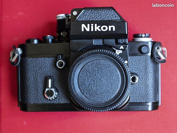 Vends ensemble Nikon F2 Moteur MD3 et accessoires